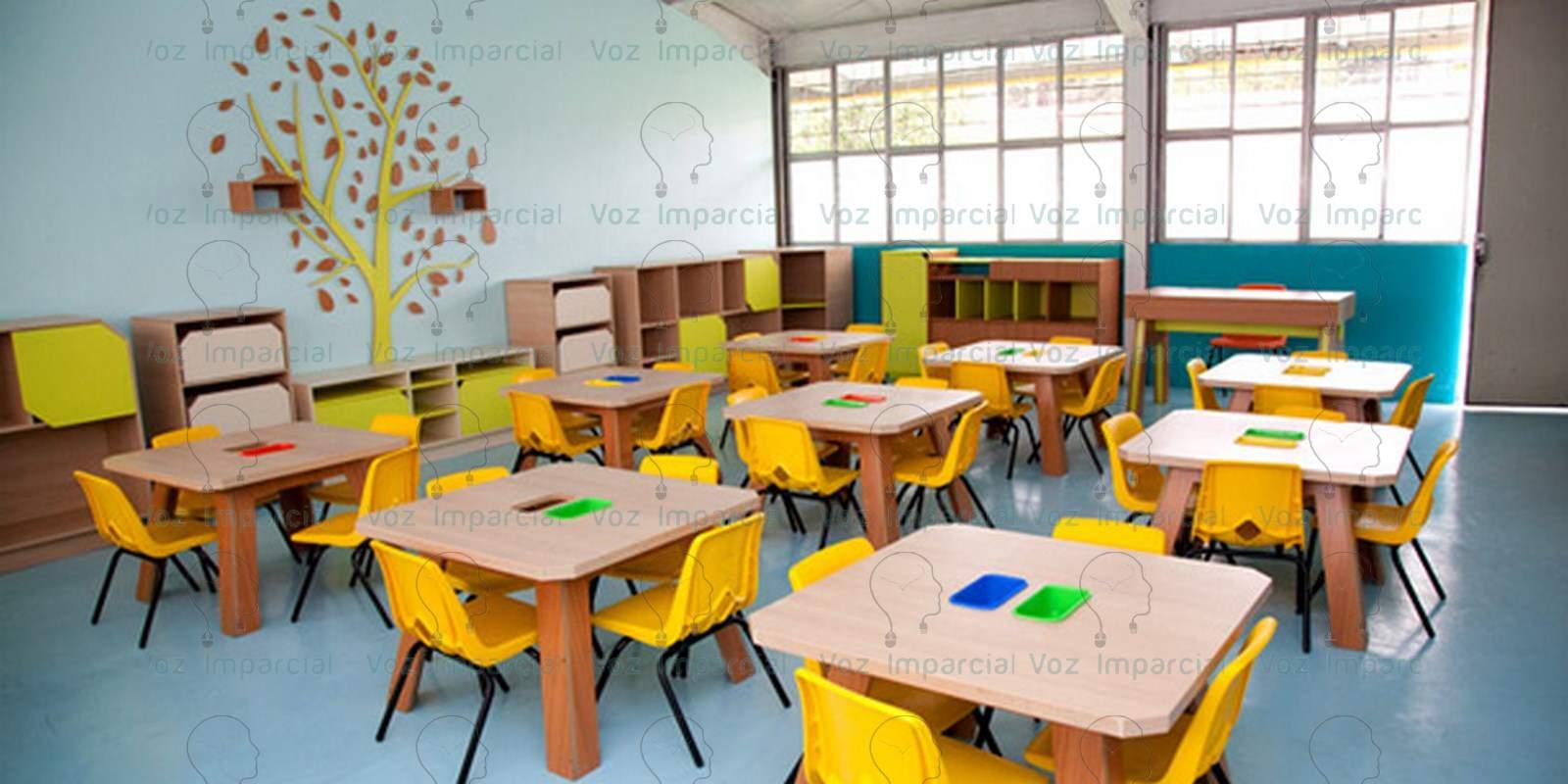 Buscan destituir a directora de preescolar donde maestro for Mobiliario para escuelas