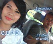 31 años de cárcel a feminicida de Laura; su esposo la mató en balneario de Ezequiel Montes