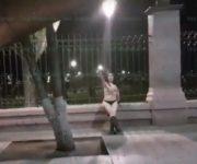 """VIDEOS SIN CENSURA: """"María"""", mujer que se promueve desnuda en redes sociales en Querétaro"""