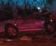 Conductor muere prensado al estrellar su auto contra árbol en San Juan del Río