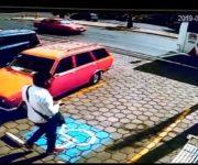 Filtran VIDEO de la impactante muerte de taxista en Tequisquiapan