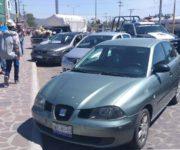 Localizan uno de los dos vehículos reportados como robados en Tequisquiapan, del otro no hay denuncia alguna