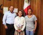 Jovencita de Colón se prepara para Concurso Nacional de Robótica en Cancún