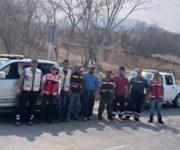 Se suma Protección Civil Pinal de Amoles a los trabajos para abatir el incendio de San Juan de los Durán, Jalpan de Serra