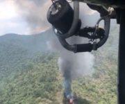 -VIDEO- Confirman muerte de tripulantes de helicóptero de la SEMAR desplomado en Jalpan