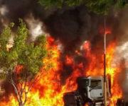 -VIDEOS- Sin frenos tráiler mata varias personas tras fuerte accidente