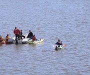 Muere ahogado pescador en presa de La Estancia, no lo encuentran, mañana continúan búsqueda