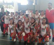 Digna participación de selección de baloncesto femenil infantil colonense en Acapulco