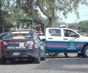 Dos hampones despojan de 50 mil pesos a cuentahabiente en violento asalto en San Juan del Río, los detienen en la Llave