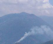 Alertan en Tilaco, Landa de Matamoros, incendio en vecino municipio de Hidalgo