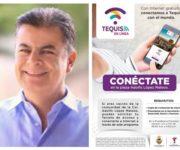 """Condiciona Toño Mejía """"Internet Gratuito"""" en Colonia de Tequisquiapan"""