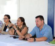 Atiende Lupita Alcántara Inquietudes de Autoridades Auxiliares de Tolimán
