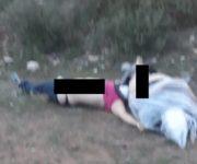 Fue torturada, maniatada y ejecutada pareja hallada muerta en Cadereyta de Montes