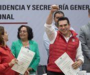 """Triunfo avasallador de """"Alito"""" Moreno para la Dirigencia Nacional del PRI"""