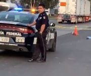 Muere hombre atropellado en la México-Querétaro, por San Juan del Río