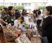 Participan 70 expositoras en Feria de la Mujer Emprendedora en Corregidora