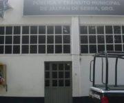 Hombre se suicida dentro de su celda en Comandancia de Jalpan