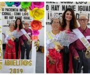 Alcaldesa Iliana montes festeja el día de los abuelitos en Arroyo Seco