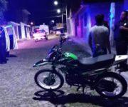 Captura policía sanjuanense a un sujeto con motocicleta robada