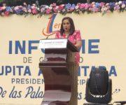 Cumple Lupita Alcántara en Tolimán, Va de las Palabras a los Hechos