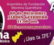 ¡Es la hora de recuperar a MORENA-Querétaro (Recobrar su espíritu de fraternidad, lucha y esperanza)