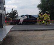 Trágico accidente entre dos vehículos deja sin vida a una persona, en San Juan de Río