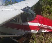 Cae avioneta en El Marqués, se presume que hay muertos