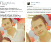 """Christian Orihuela """"rompe"""" con su padre y envía sentido mensaje a su hermano fallecido"""