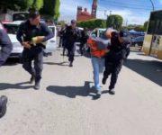 Asaltan a mano armada a cuentahabientes en San Juan del Río