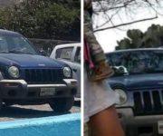 Roban vehículo en Loma Alta, San Juan del Río