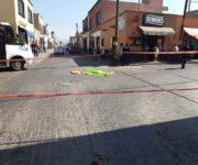 Identificada mujer  atropellada y muerta por TAXIVAN en SJR