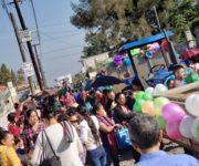 -VIDEOS- Desfilan alumnos en comunidad Cuadrilla de Enmedio, SJR