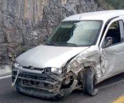 Fuerte accidente en la Cadereyta-San Joaquín