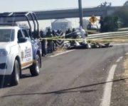 """Hallan 4 cuerpos sin vida y """"embolsados"""" sobre la Panamericana"""