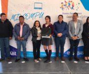 Más computadoras para impulsar desarrollo de estudiantes en Huimilpan