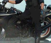 Roban motocicleta en San Juan del Río