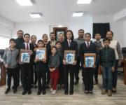 Reconocen en Cabildo de SJR a Estudiantes Destacados