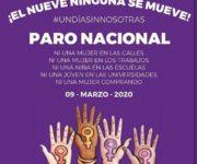 "Se suma Iliana Montes, edilesa arroyosequense, a Paro Nacional ""El Nueve Nadie se Mueve"""