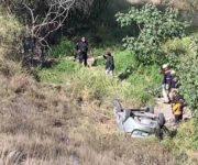 3 muertos deja accidente en la Antigua Cuesta China, El Marqués