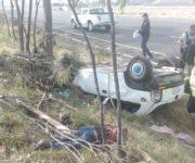 Identificados los 3 muertos del accidente en la México-Querétaro