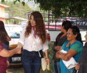 Reconoce Iliana Montes, edilesa de Arroyo Seco, la igualdad, justicia y paz por el Día Internacional de la Mujer