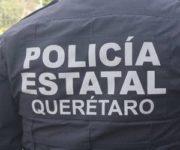 En persecución patrulla de Pedro Escobedo se accidenta en San Juan del Río