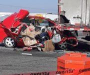 En trágico accidente muere copiloto de automóvil compacto en la 57, por Lomalinda SJR