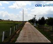 -VIDEO- Gobierno de alcaldesa Lety Servín mejora vialidades en Huimilpan