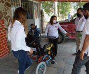 Apoya alcaldesa Lety Servín a personas más vulnerables en Huimilpan