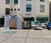 Convierten Hospital Santa Cruz para atender a pacientes del COVID-19 en Querétaro