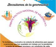 Grupos altruistas apoyarán con alimentos en caliente y solicitan apoyo en Querétaro
