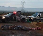 Macabro hallazgo el de 15 cuerpos sin vida sobre carretera