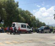 Balean a policías estatales en Huichapan, Hidalgo, uno de gravedad