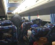 Pelean pasajeros con enfermo covid a bordo de Ómnibus de México, bajó en Querétaro